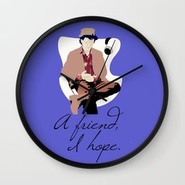 the Hatter Wall Clock