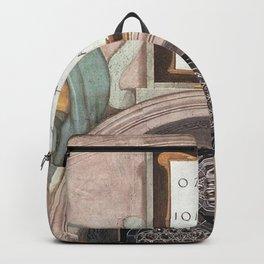 Michelangelo - Uzziah, Jotham and Ahaz Backpack