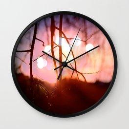 Invigorating Lights I Wall Clock