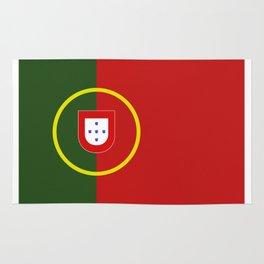 portugal flag Rug