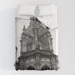 Gothic French Architecture Duvet Cover