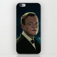 the great gatsby iPhone & iPod Skins featuring The Great Gatsby by Vito Fabrizio Brugnola
