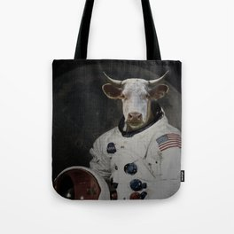 The Cow That Jumped Over the MOOn Tote Bag