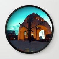 revolution Wall Clocks featuring Revolution by MarianaManina