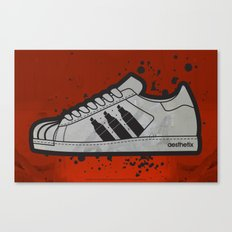 Aesthetix 3 Pens Superstar Canvas Print