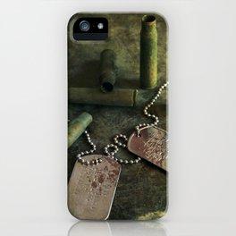 We were soldiers III iPhone Case