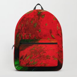 Strawberry Fruit Art Deco Backpack