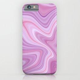 Light Purple Marble iPhone Case