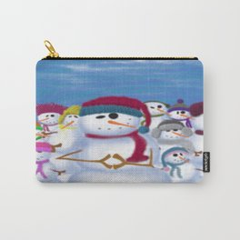 The Snowman & His Posse Carry-All Pouch