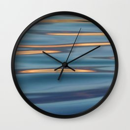 Lights on the Water Wall Clock