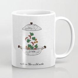 Wok On The Wild Side, Music Quote Coffee Mug