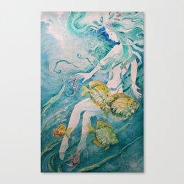 Fathom Mermaid Canvas Print