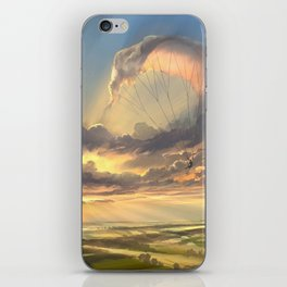made of air iPhone Skin