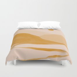 Morning Mountain Bliss Duvet Cover