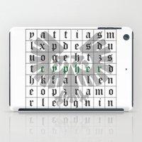 warhammer iPad Cases featuring Cypher, Warhammer 40K by ZsaMo Design
