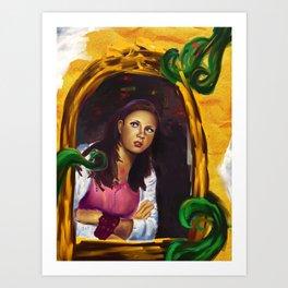 alice 01 Art Print