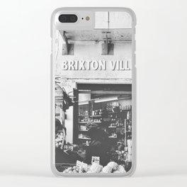 Brixton Village Market Entrance Clear iPhone Case