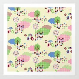 Sweet Land Art Print