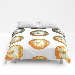 rusty circles Comforters