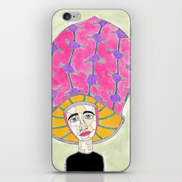 15th Century European Hunting Hat iPhone Skin