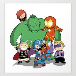 Baby Avenger-s Art Print