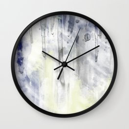 ABSTRACT ART Dream of Paint No. 001 Wall Clock