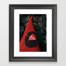 Love is... Framed Art Print