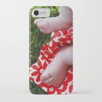 feet iPhone & iPod Cases featuring Feet by Cristina Serrano
