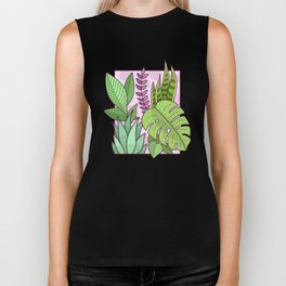 Framed Plants Biker Tank