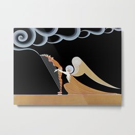 "Art Deco Design ""The Angel"" Metal Print"