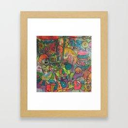 start me up by Barrie J Davies 2015 Framed Art Print