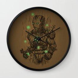 Wooden Man Wall Clock