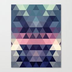Triangle Space Canvas Print