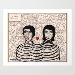 French Connection Art Print