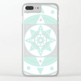 She now likes Teal Clear iPhone Case