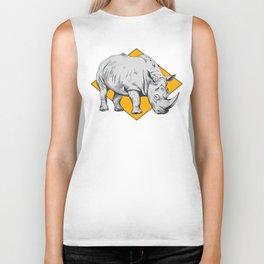 Rhino Yellow Biker Tank