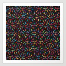Crystallography Art Print
