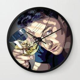 "James McAvoy ""Rotoscoping"" Wall Clock"