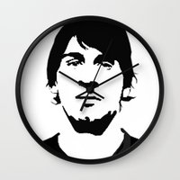 messi Wall Clocks featuring messi by b & c