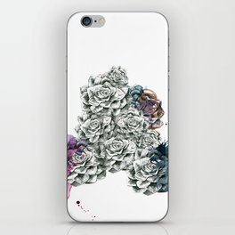 Fat Flower/Triangle iPhone Skin
