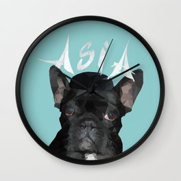 Miss Asia Wall Clock