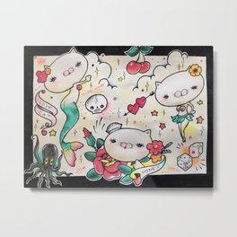 ザ・SEXY CAT Metal Print