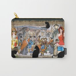 The Carol singers in old Amsterdam Carry-All Pouch