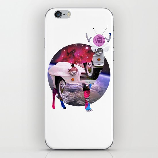 DeerSpaceInvasion 3 iPhone & iPod Skin