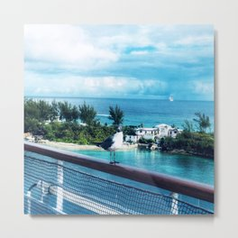 The Lonely Pigeon Metal Print