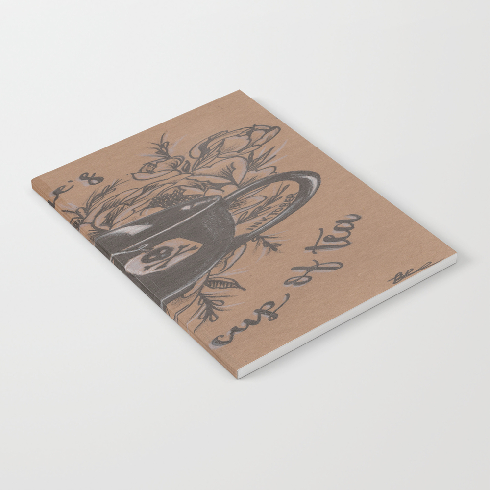 Not Everyone's Cup Of Tea Notebook by Jadepowelljones NBK7893902