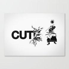 cute Canvas Print