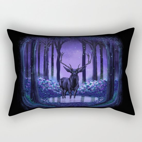 Elf Forest Rectangular Pillow