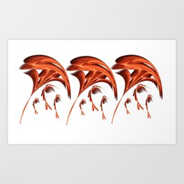 Birds Beth & Bath Art Print