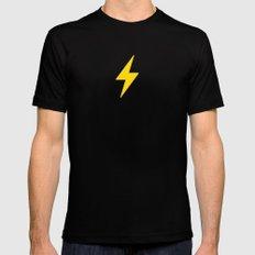Fast Flash Mens Fitted Tee MEDIUM Black